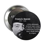 "Philosopher Francis Bacon 2.25"" Button (10 pack)"