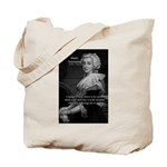 Courage Marie Antoinette Tote Bag