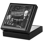World War II Churchill Keepsake Box