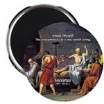 Know Thyself Socrates Quote Magnet