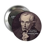 """Immanuel Kant Reason 2.25"""" Button (10 pack)"""