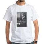Goethe on Pure Thought White T-Shirt