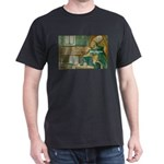 The Knowledgeable One: Saint  Black T-Shirt