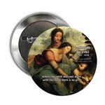 "Leonardo da Vinci Art Spirit 2.25"" Button (100 pac"