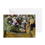 Degas Difficulty of Painting Greeting Cards (Packa