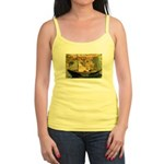 French Painter Manet Quote Jr. Spaghetti Tank