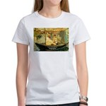 French Painter Manet Quote Women's T-Shirt