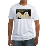 Impressionist Art Manet  Fitted T-Shirt