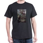 Manet Painting Color Quote Black T-Shirt