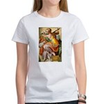Words on Genius Michelangelo Women's T-Shirt