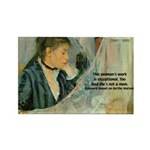 Female Artist Morisot Quote Rectangle Magnet