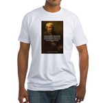 Renbrandt Self Portrait & Quote Fitted T-Shirt