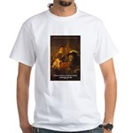 Art & Atmosphere Rembrandt White T-Shirt
