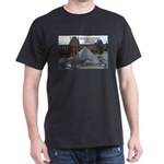 Renoir The Louvre & Nature Black T-Shirt
