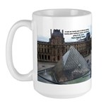 Renoir The Louvre & Nature Large Mug