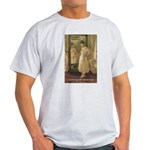 Aesop Quote Psyche Painting Ash Grey T-Shirt