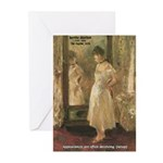 Aesop Quote Psyche Painting Greeting Cards (Packag