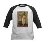Aesop Quote Psyche Painting Kids Baseball Jersey
