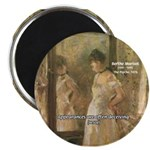 "Aesop Quote Psyche Painting 2.25"" Magnet (100 pack"