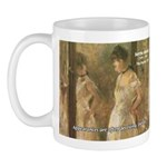 Aesop Quote Psyche Painting Mug