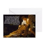 Religious Art & Beauty Greeting Cards (Package of